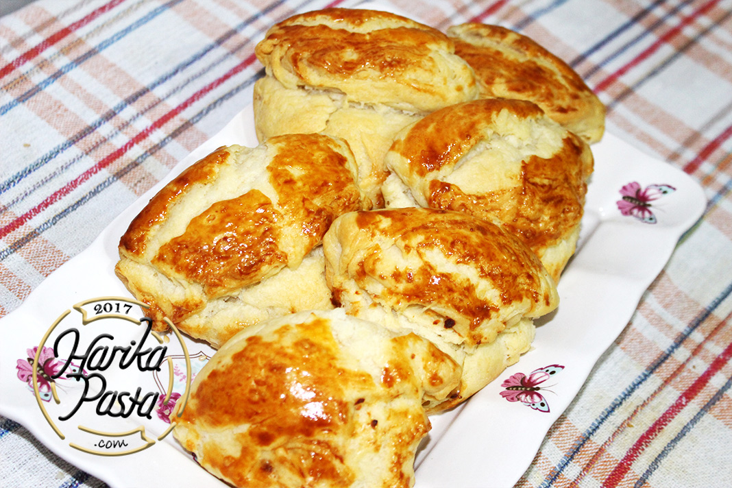 Peynirli Midye Poğaça Tarifi