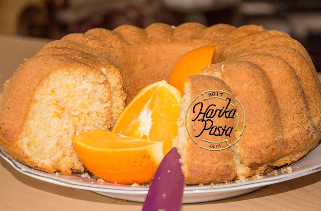 Kolay Portakallı Kek Tarifi - Çok Özel Tarif